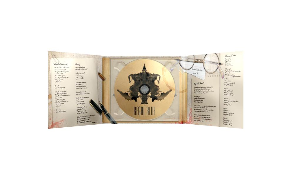 Digipack CD – Regal Blue
