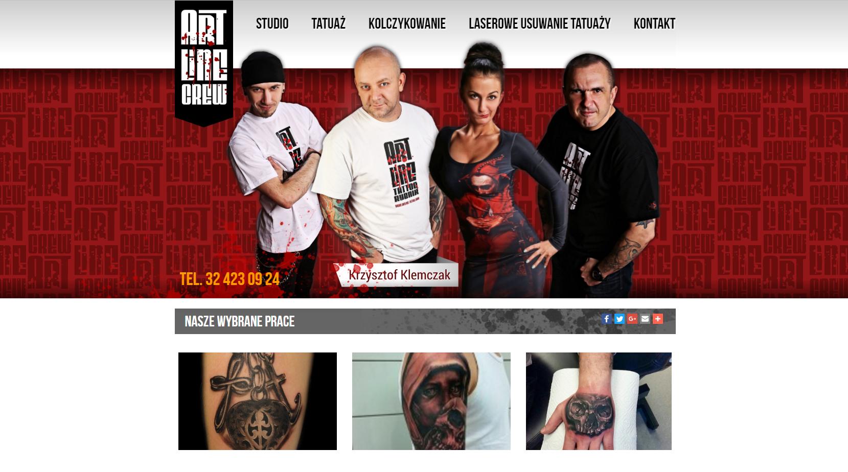 Studio Art Line Tattoo