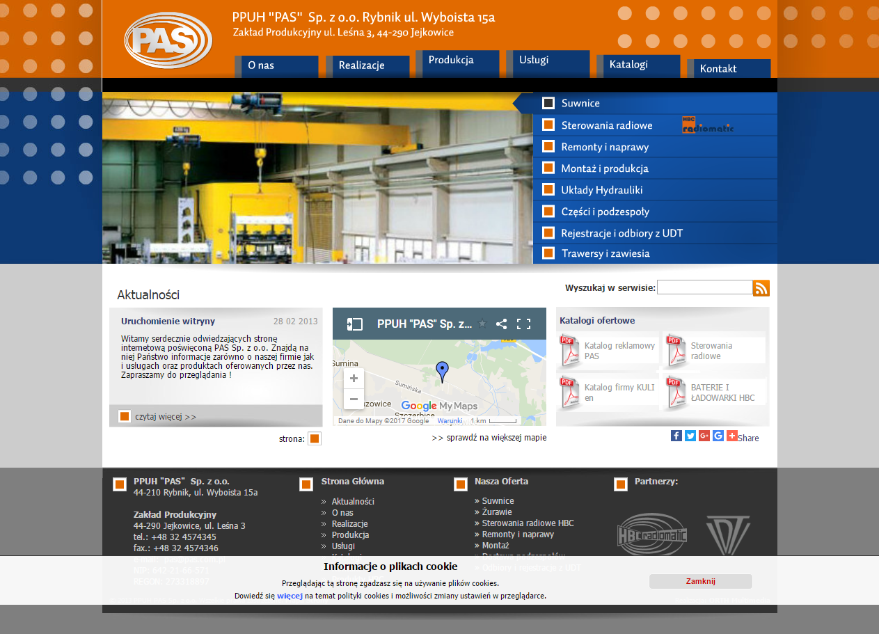 Zakład produkcyjny PAS