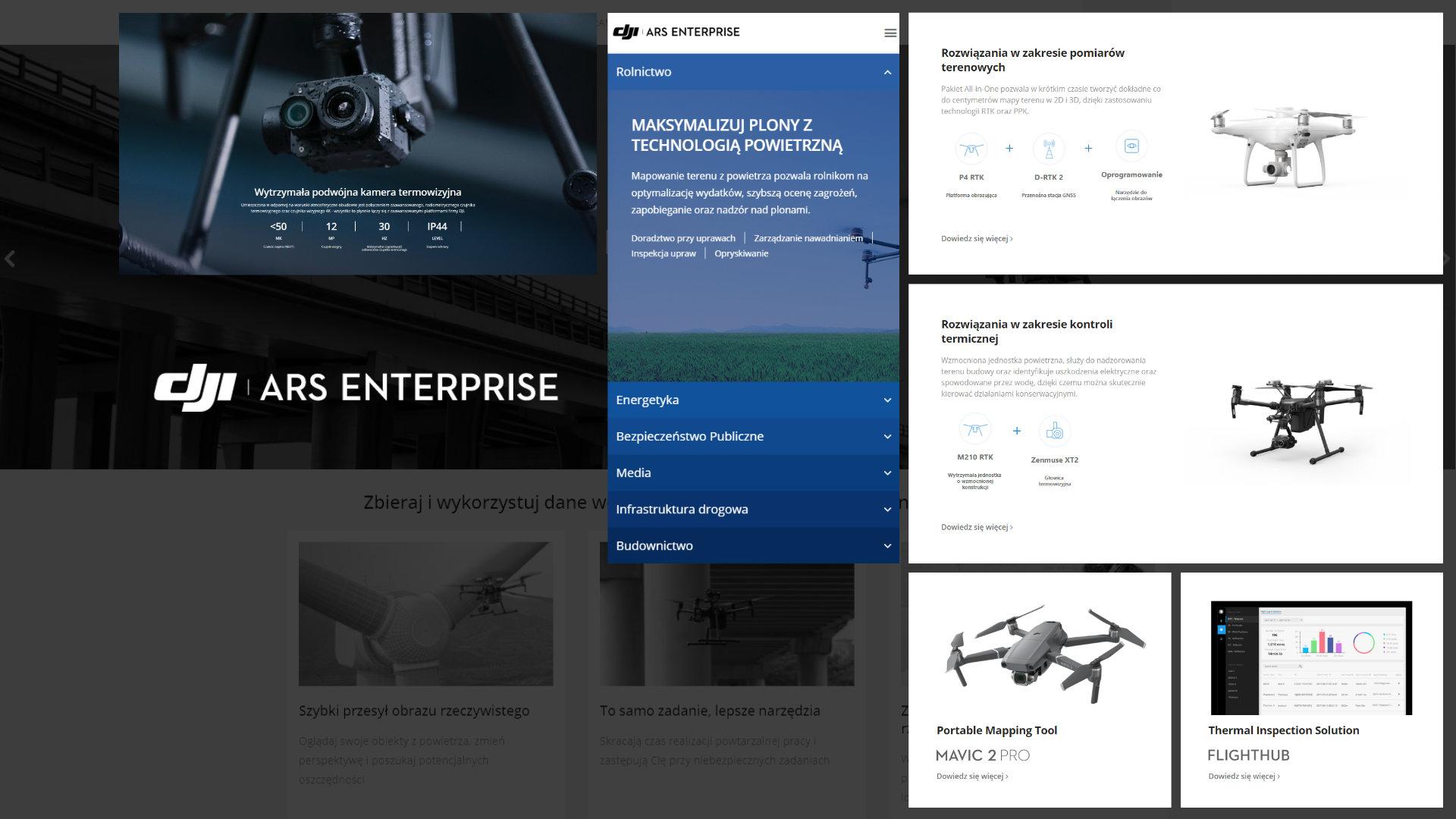 Enterprise DJI ARS